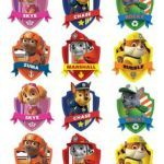 Paw Patrol Names and Pictures Excellent 12 Best Paw Patrol Badge Images