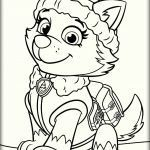 Paw Patrol Pages Inspirational Paw Patrol Everest Coloring Pages Coloring Pages