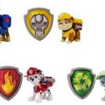 Paw Patrol Pictures Of Rocky Awesome Paw Patrol Action Pack Pup Figures with Badges Bundle Of 4 Marshall