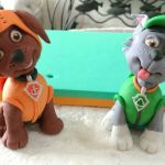 Paw Patrol Pictures Of Rocky Brilliant Zuma and Rocky Paw Patrol Cake toppers Paw Patrol