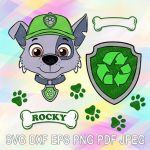 Paw Patrol Pictures Of Rocky Exclusive Pinterest