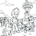 Paw Patrol Pictures to Print Inspiring Free Printable Paw Patrol Coloring Pages Luxury Marshall Paw Patrol