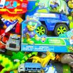 Paw Patrol Police Car Wonderful Box Full Of toys