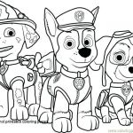 Paw Patrol Print Outs Creative Paw Patrol Coloring Pages Free In Paw Printable Alzenfieldwalk