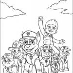 Paw Patrol Print Outs Inspired Nick Coloring Pages Free Paw Patrol Printables From Childrens