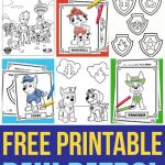 Paw Patrol Print Outs Inspiring May Coloring Pages for Kids to Print Out