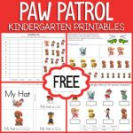 Paw Patrol Print Outs Pretty Kindergarten Printables Archives 1 1 1=1