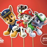 Paw Patrol Print Outs Wonderful Paw Patrol Party Printable Center Piece Birthday Party theme