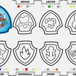 Paw Patrol Printable Badges Awesome the Perfect Pic Paw Patrol Coloring Familiar Yonjamedia