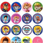 "Paw Patrol Printable Badges Best Of Paw Patrol 2"" Circle Digital Collage Sheet 8 5x11"