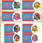 Paw Patrol Printable Badges Best Of Paw Patrol Party Decorations Printables Valoblogi