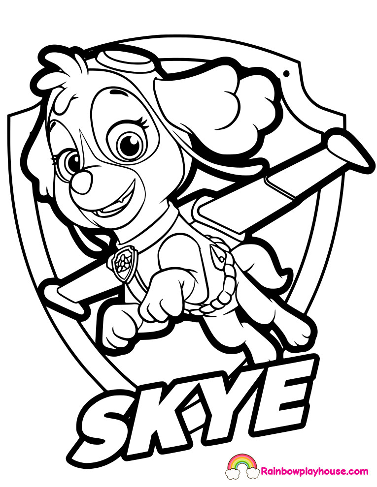 Paw Patrol Printable Badges Inspirational Paw Patrol Coloring Pages Free In Paw Printable Alzenfieldwalk