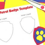 Paw Patrol Printable Badges New Paw Patrol Badge Template More Vertical Id – Lynnlevy