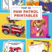 Paw Patrol Printable Badges Unique Coloring Design Paw Patrol Chase Police Car Coloring Page Free