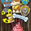 Paw Patrol Printable Decorations Amazing Paw Patrol Centerpiece Number 3 Rubble Paw Patrol Printable