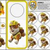 Paw Patrol Printable Decorations Inspirational Fiesta Patrulla Canina Party Decorations En 2019 Paw