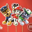Paw Patrol Printable Decorations Inspiring Paw Patrol Party Printable Center Piece Birthday Party theme
