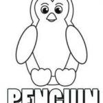 Pengiun Coloring Page Inspirational Free Penguin Coloring Page Puppet Of the Month
