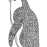 Pengiun Coloring Page Marvelous 39 Best Penguin Coloring Images In 2015