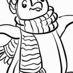 Pengiun Coloring Page Pretty √ Penguin Coloring Pages and 10 Beautiful Penguin Coloring Pages
