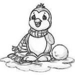 Penguin Coloring Book Inspired Precious Moments Christmas Coloring Pages Bing