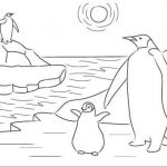 Penguin Pictures to Print Awesome Antarctica Flag Coloring Page Coloring Pages Page Delightful