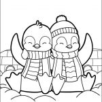Penguin Pictures to Print Inspiration Free Christmas Coloring Pages Simple Christmas Coloring Pages