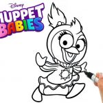 Penguin Pictures to Print Inspired Summer Penguin Disney Muppet Babies Coloring Page