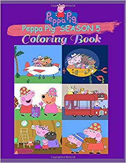 Peppa Pig Coloring Book Brilliant Buy Peppa Pig Season 5 Coloring Book Book Line at Low Prices In