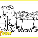 Peppa Pig Coloring Book Brilliant Peppa Pig Friends Coloring Pages