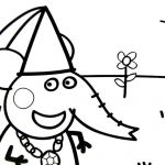 Peppa Pig Coloring Book Brilliant Test Tube Coloring Page at Getdrawings