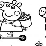 Peppa Pig Coloring Book Creative Collection Of Peppa Pig Clipart