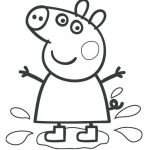 Peppa Pig Coloring Book Exclusive Coloring Pages Peppa Pig Coloring Book Printable Sketch Google