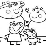 Peppa Pig Coloring Book Exclusive Family Coloring Pages Printable Coloring Image
