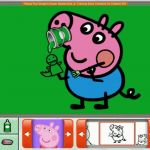Peppa Pig Coloring Book Inspiration Peppa Pig George S Easter Basket Nick Jr Coloring Book Creativity