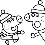 Peppa Pig Coloring Book Inspirational Collection Of Peppa Pig Clipart