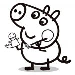 Peppa Pig Coloring Books Excellent Peppa George Coloring Pages Elegant Peppa Pig Coloring Pages Peppa