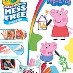 Peppa Pig Coloring Books Inspiration Amazon Crayola Color Wonder Coloring Book Pages & Markers Mess