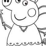 Peppa Pig Coloring Pages Creative Free Coloring Pages for toddlers Unique Best Od Dog Coloring Pages