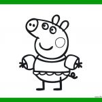Peppa Pig Coloring Pages Creative Peppa Pig Coloring Pages to Print – Jackpotprint