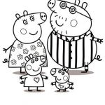 Peppa Pig Coloring Pages Elegant Peppa Pig Print and Colour Abc Kids