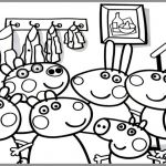 Peppa Pig Coloring Pages Inspirational Kids Drawing Book at Getdrawings