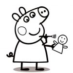 Peppa Pig Coloring Pages Inspired Coloring Book World Coloring Book World Peppa Pig Printable Pages