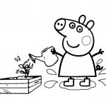 Peppa Pig Coloring Pages Inspired Peppa Pig Images to Print – Salemobilefo