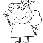 Peppa Pig Coloring Pages Inspiring Peppa Pig Coloring Pages to Print – Jackpotprint