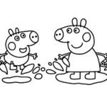 Peppa Pig Coloring Pages Marvelous Image Result for Peppa Pig Muddy Puddles Coloring Pages