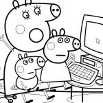 Peppa Pig Coloring Pages Marvelous Unique Peppa and George Pig Coloring Pages – Kursknews