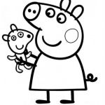Peppa Pig Coloring Pages Pretty Peppa Pig Coloring Page Unique Peppa Pig Free Coloring Pages Ideas