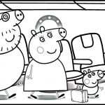 Peppa Pig Coloring Pages Pretty Pig Coloring Page 9