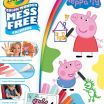 Peppa Pig Coloring Sheets Fresh Amazon Crayola Color Wonder Coloring Book Pages & Markers Mess